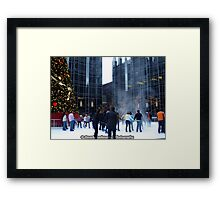 PPG Place in Pittsburgh, PA - Wind Made a Snowy Tornado Framed Print