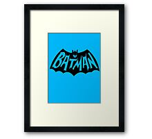 Batman '66 Framed Print