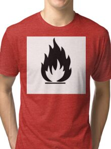 Highly Flamable  Tri-blend T-Shirt
