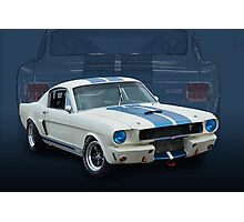 1966 Shelby Mustang GT350 Photographic Print
