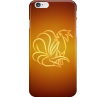 Aurius & Enchantus 038 Ninetales iPhone Case/Skin