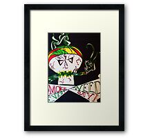 Puffy the Pirate Framed Print