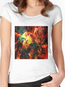 Neptunia Women's Fitted Scoop T-Shirt