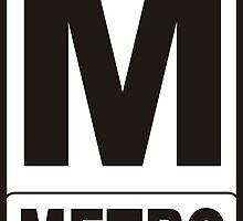 Metro Sign by tony4urban