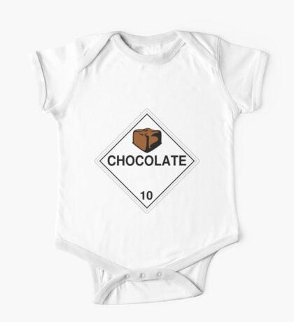 Chocolate: Hazardous! Kids Clothes