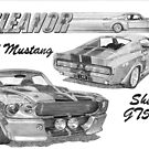 FORD MUSTANG SHELBY GT500 by Steve Pearcy