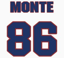 National football player Monte Ledbetter jersey 86 by imsport