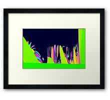 after chewing gum Framed Print