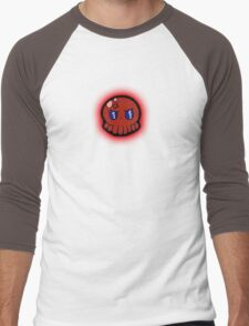 Tako-Chan Mad Men's Baseball ¾ T-Shirt