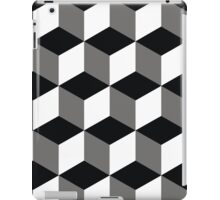 background squares iPad Case/Skin