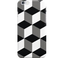 background squares iPhone Case/Skin