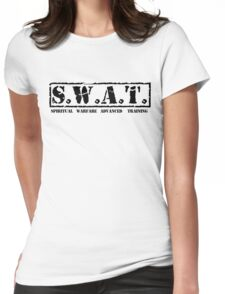 S.W.A.T. BLK Womens Fitted T-Shirt