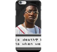 Gucci Thinking iPhone Case/Skin