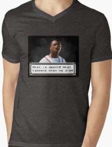 Gucci Thinking Mens V-Neck T-Shirt