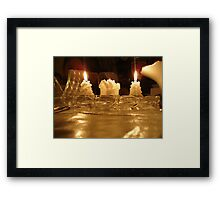 Dim Light Framed Print