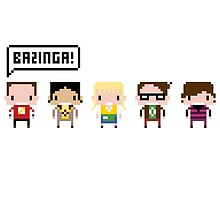 The Big Bang Theory Pixel Characters by Sergey Vozika
