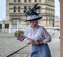 Oamaru Living its History 2 by Werner Padarin