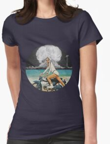 ICE COLD MO' FO' Womens Fitted T-Shirt