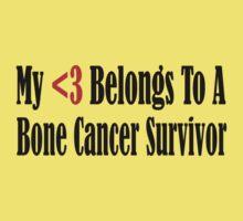 Bone Cancer Baby Tee