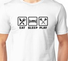 Eat Sleep Play Darts Unisex T-Shirt