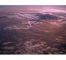 Sunrise Above the Clouds Photographic Print