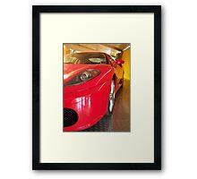 Ferrari Vision Framed Print