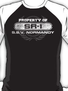 Naval Property of SR1 T-Shirt