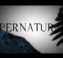 supernatural logo season 4 Sticker