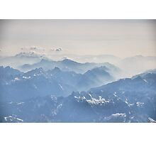 Mountains From The Sky Photographic Print