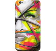 MADONNA REBEL HEART Original Ink & Acrylic Painting iPhone Case/Skin