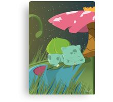 Tait Design | Bulbasaur Rests  Canvas Print