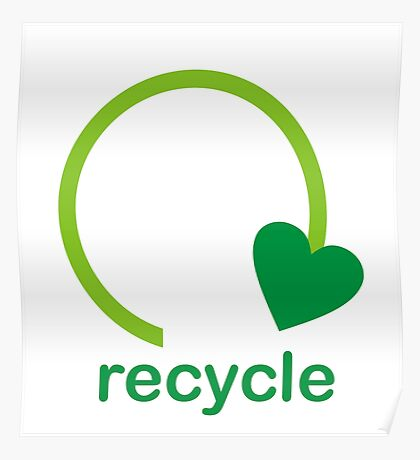 Recycle Sign Poster