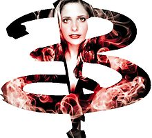 B - Buffy red fire by goofyjeremy