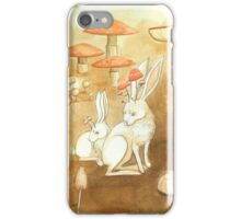 Mushies of the Fungus Forest iPhone Case/Skin