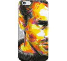 JAMES DEAN Original Ink & Acrylic Painting iPhone Case/Skin
