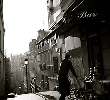 The Montmartre Cafe by Douzy
