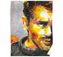 JAMES DEAN Original Ink & Acrylic Painting Poster