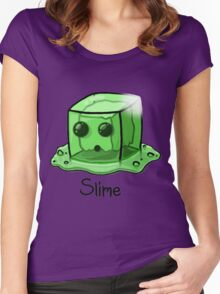 Slime Minecraft Women's Fitted Scoop T-Shirt