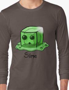 Slime Minecraft Long Sleeve T-Shirt