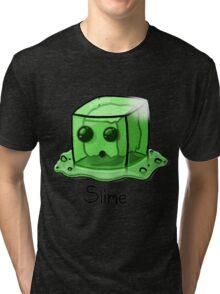 Slime Minecraft Tri-blend T-Shirt