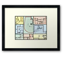 blueprint Framed Print