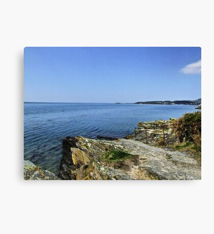 Portmeirion Beach HDR Canvas Print