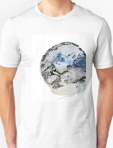Tree Ring Mountains Unisex T-Shirt
