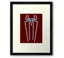 The Amazing Spider-man variant crest. Framed Print