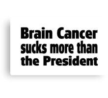 Brain Cancer Canvas Print