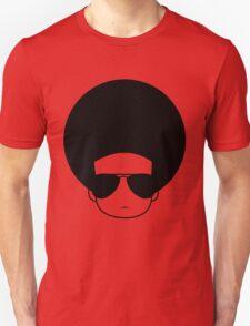 Afro sad (black) Unisex T-Shirt