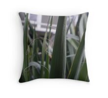 Amongst The Blades Throw Pillow