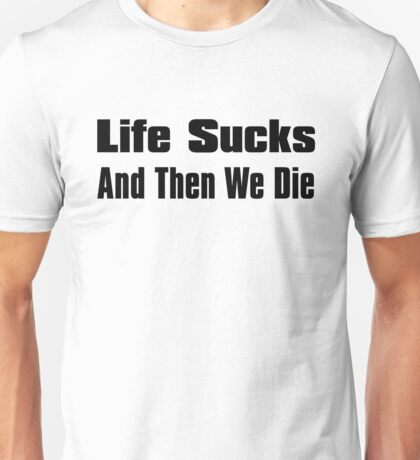 A Bit of Optimism #3 (Large Text) Unisex T-Shirt