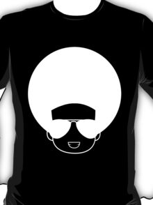 Afro smile (white) T-Shirt