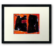 When the Earth is Burning Framed Print